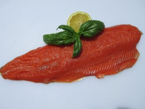 SOCKEYE SALMON Bake in 10 minutes - How to BAKE PERFECT SALMON