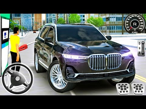 bmw-x7-driving-simulator---offroad-police-car-suv-driver---android-gameplay