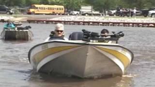 Bullet Bass Boat w/Short Shaft Drag Motor