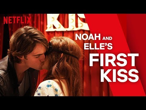 The Kissing Booth   Noah and Elle's First Kiss   Netflix