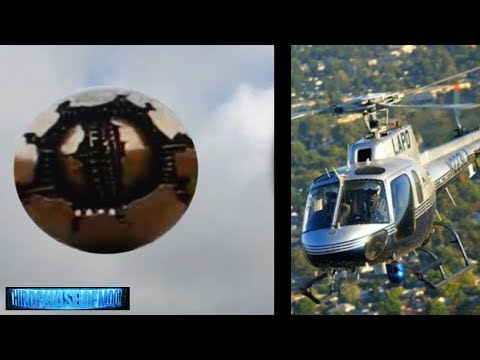 LAPD Helicopter Surrounds UFO! What Really Happened In LA? Eyewitness Testimony! 9/1/2017