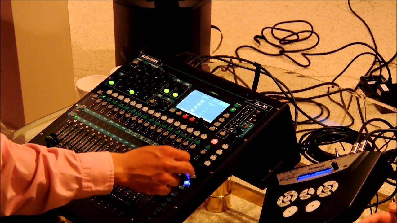 allen heath qu 16 digital mixer training in chinese part 3 effects routing and scenes youtube. Black Bedroom Furniture Sets. Home Design Ideas