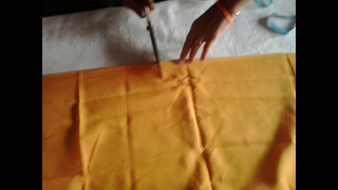 Download Simple Blouse cutting and stitching in Hindi ...