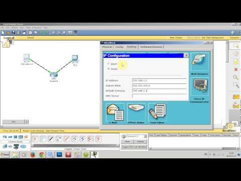 Cisco Packet Tracer ตอนที่ 1. การจำลองการเชื่อมต่อระบบเครือข่าย