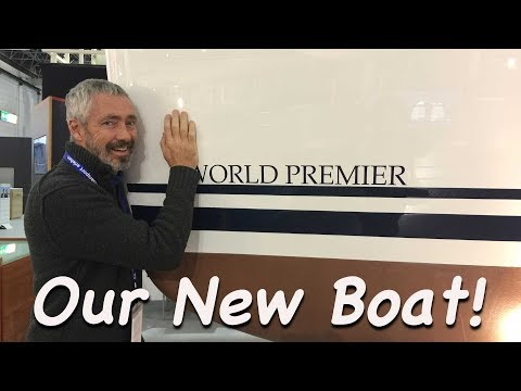Our New Boat Unveiled at Boot Dusseldorf