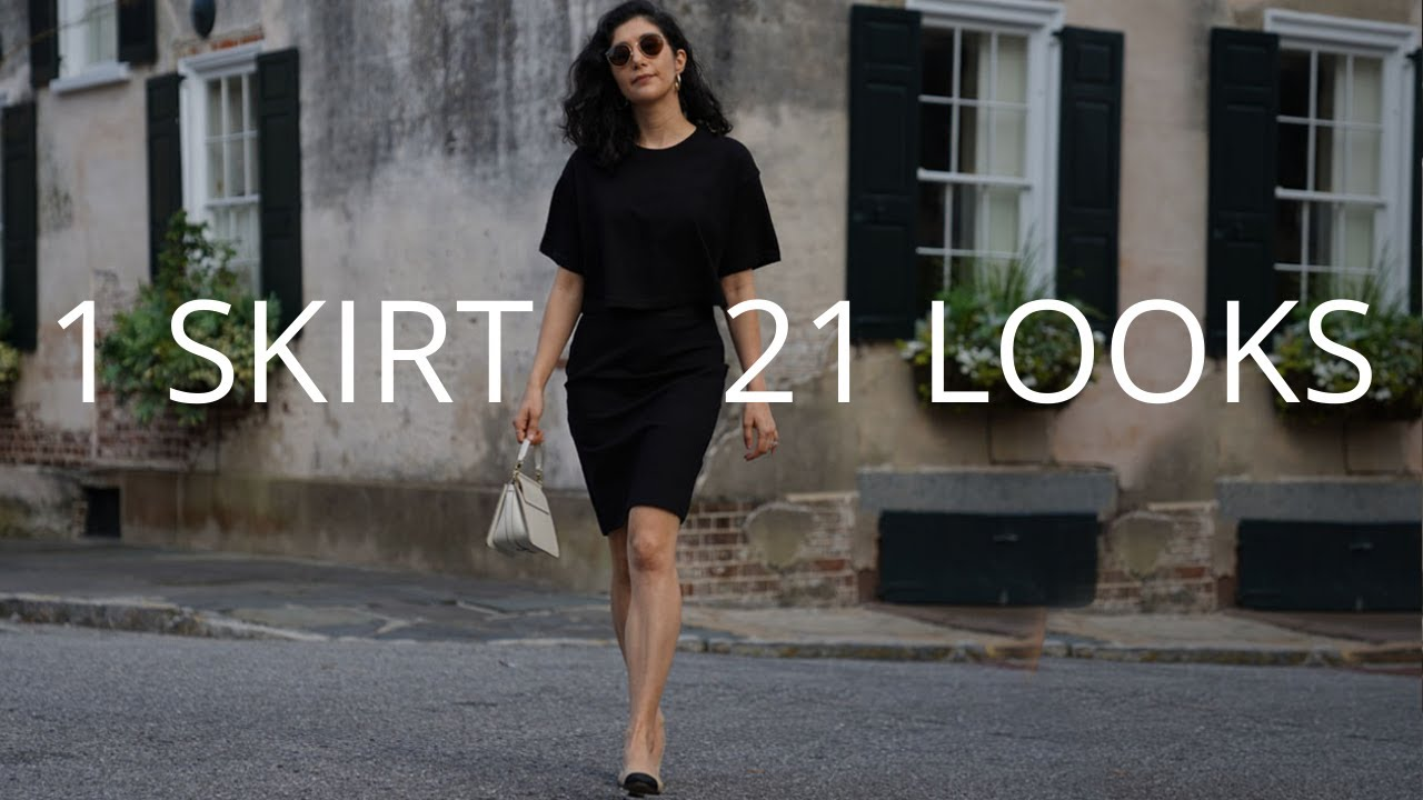How To Style A Pencil Skirt 21 Ways