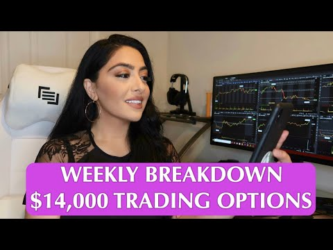 $14,000 TRADING OPTIONS IN 4 DAYS!