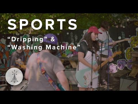 "103. SPORTS - ""Dripping"" & ""Washing Machine"" — Public Radio /\ Sessions"
