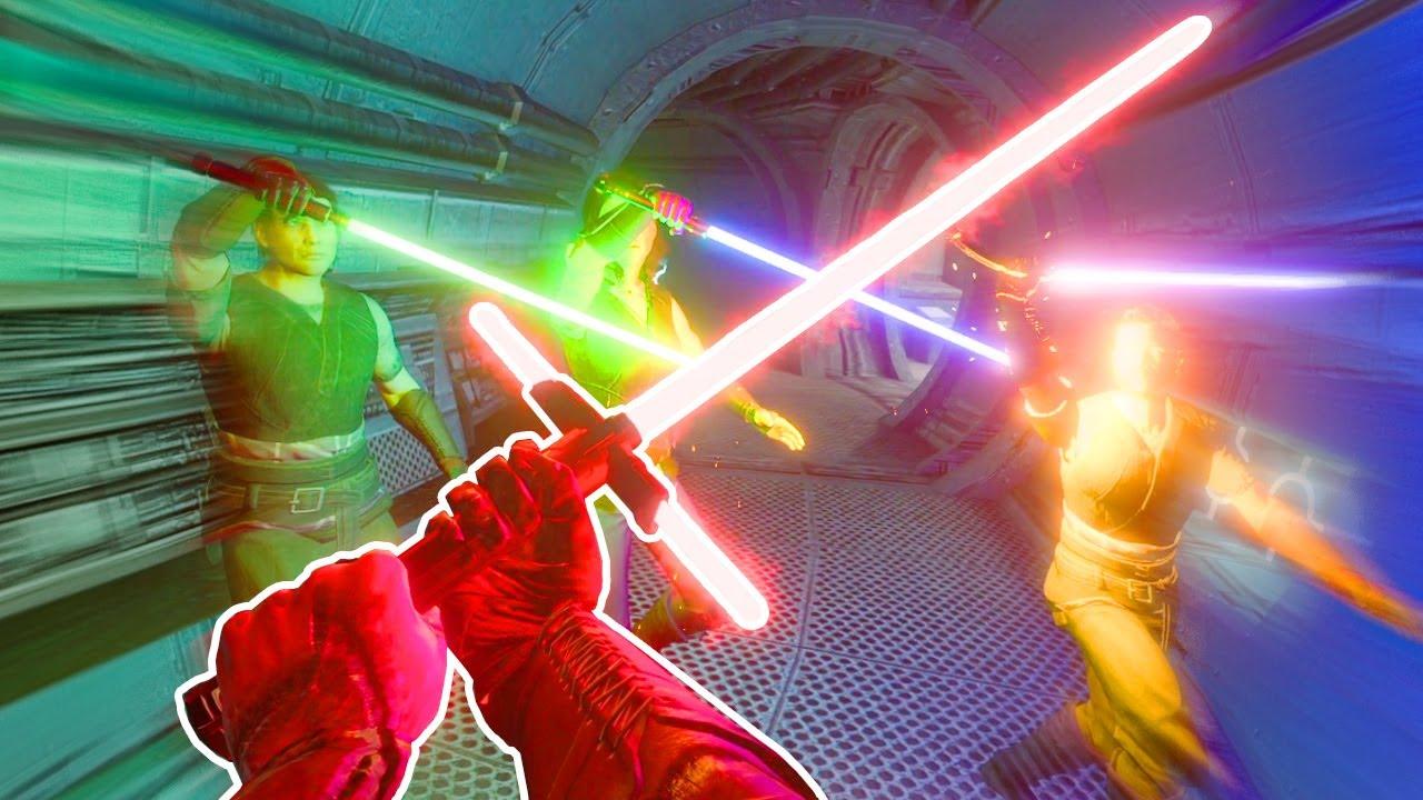 Je combat enfin DARK VADOR ! (STAR WARS : Le Pire Jedi)