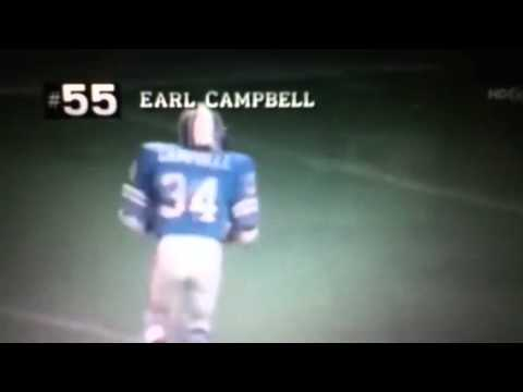 Earl Campbell 4 TD
