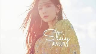 Gambar cover Stay  - Taeyeon 태연