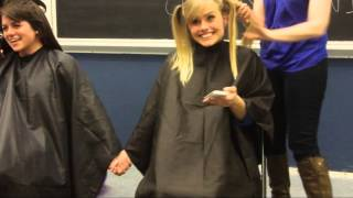 University at Buffalo Occupational Therapy Class of 2015 Goes Bald For Bucks