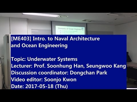 Introduction to Naval Architecture and Ocean Engineering : Underwater Systems