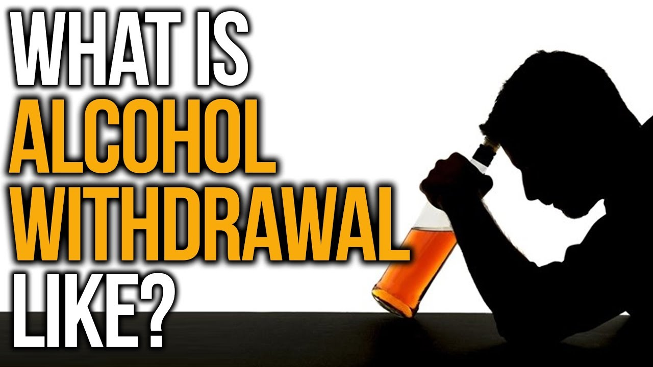how to stop alcohol withdrawal symptoms