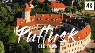 Pułtusk najdłuższy rynek miejski w Europie z lotu ptaka | 4K drone footage, DJI Mavic Air