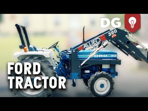 Death By Clutch! Ford Tractor Hard Start - YouTube