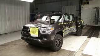 2016-2018 Toyota Tacoma Double Cab NHTSA Side Impact