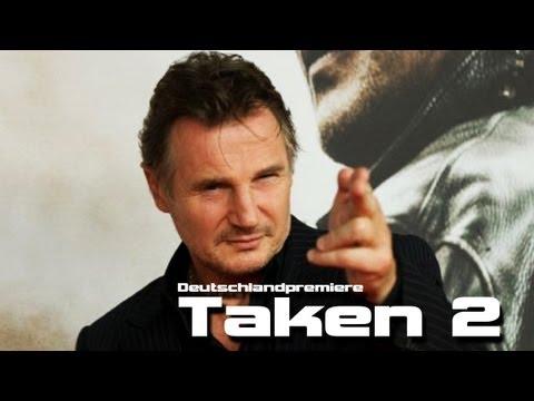 96 HOURS - TAKEN 2 Premiere in Berlin mit LIAM NEESON!