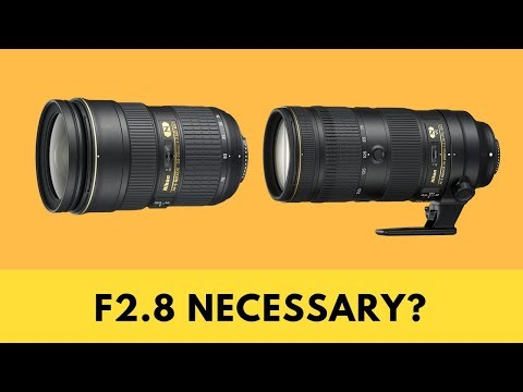 Are a 24-70mm 2.8 & 70-200mm 2.8 NECCESSARY for Wedding Photography?