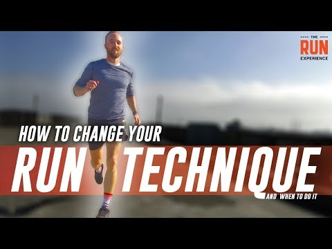 How To Change Your Run Technique (And The Best Time To Do So)
