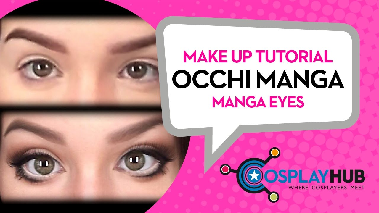 Exceptionnel Make Up Tutorial: occhi Manga (Manga Eyes) - YouTube QH11