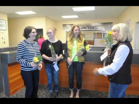 Zonta Roses at Philomath High School