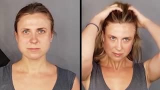 Лёгкий МАКИЯЖ | грушевидная форма лица | КОРРЕКЦИЯ макияжем