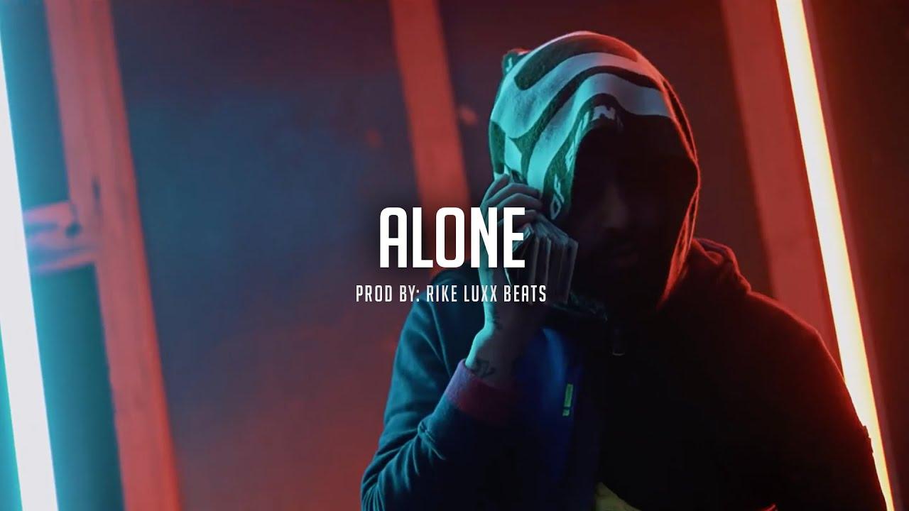 "[FREE] Dope Trap Beat ""ALONE"" Free Trap Beats 2021 - Rap Beat Trap Instrumental"