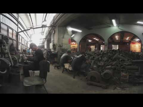 360 Video:  Knife factory turns violent past into profit