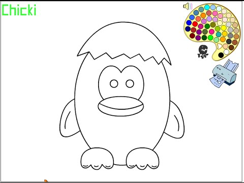 Chick Coloring Pages For Kids Chick Coloring Pages Youtube