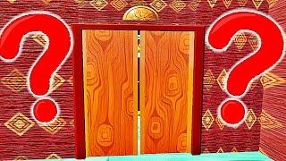 QUI YA T-IL DERRIÈRE CETTE PORTE ?!! | Hello Neighbor !