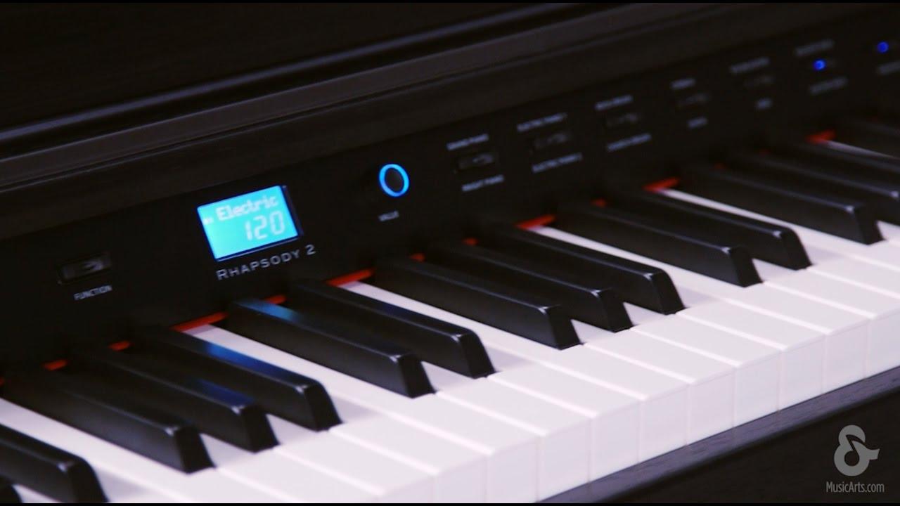 Williams Rhapsody 2 : williams rhapsody 2 88 key console digital piano youtube ~ Russianpoet.info Haus und Dekorationen