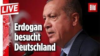 🔴 Erdogan landet in Deutschland | Ankunft in Berlin