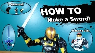 How to make a Sword for your Halo action figures