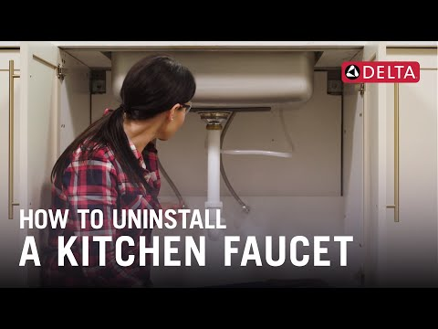 how-to-uninstall-a-kitchen-faucet