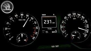 2015 Skoda Octavia III 2.0 TDI 110 kW, 0-200 km/h - acceleration