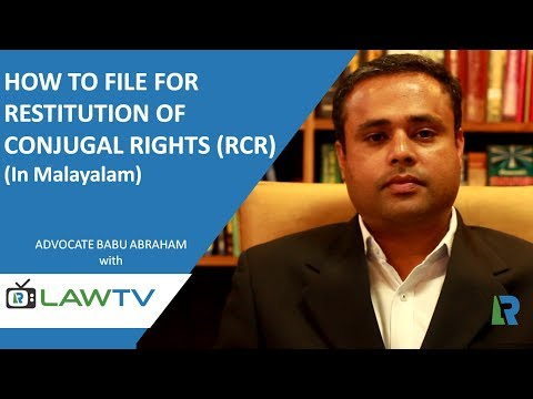 Indian Kanoon - How to file for Restitution of Conjugal Rights (In Malayalam) - LawRato.com