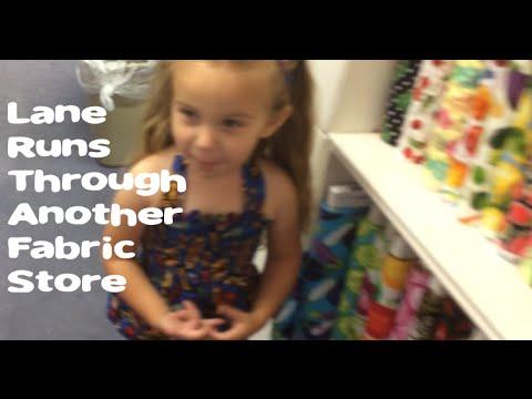 Lane Runs Through Another Fabric Store