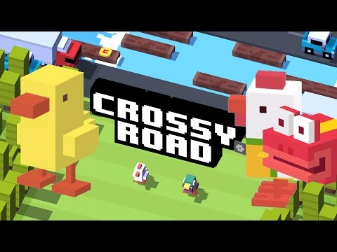 Crossy Road New Characters Unlocked My Highest Score Ever in Cross Road!