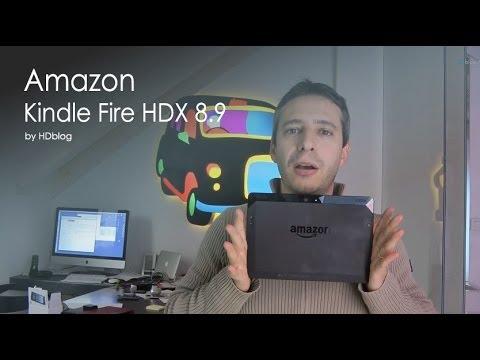 """Amazon Kindle Fire HDX 8.9"""" videoreview da HDblog.it"""