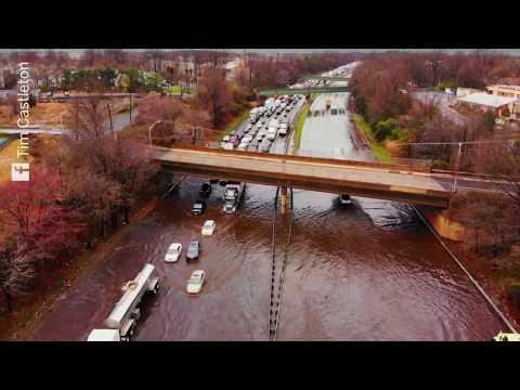 Flooding closes parts of I-287 in New Jersey
