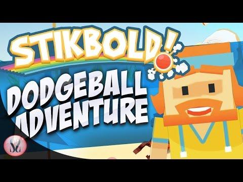 Stikbold! A Dodgeball Adventure Gameplay |