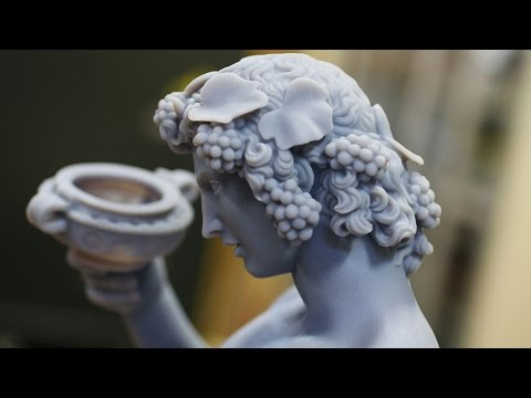 Scanning & 3D Printing Works By Michelangelo