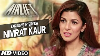 Nimrat Kaur Exclusive Interview | AIRLIFT | T-SERIES