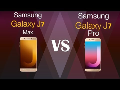 Samsung Galaxy J7 MAX VS Samsung Galaxy J7 PRO