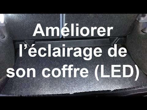 am liorer l 39 clairage du coffre en ajoutant des led renault clio 2 youtube. Black Bedroom Furniture Sets. Home Design Ideas