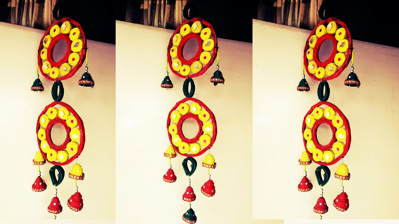 Fantastic How To Make Decorative Wall Hangings With Bangles Photo ...