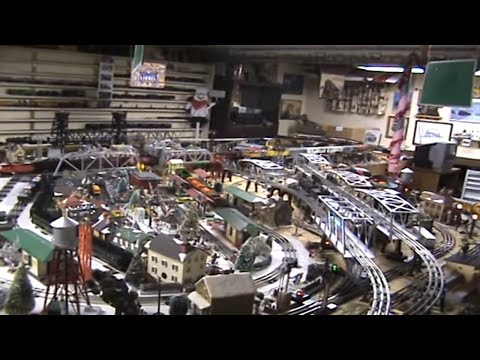 O Gauge Train Layout