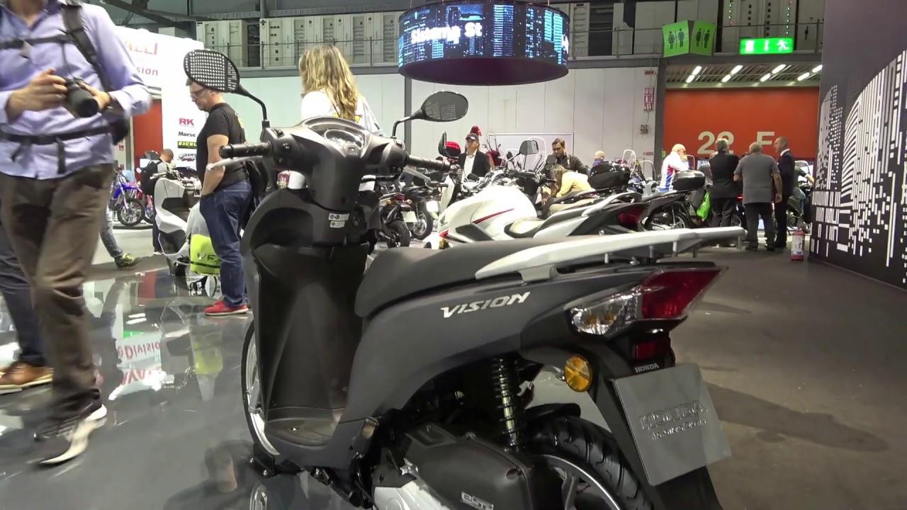 Honda Vision 110cc Scooter 2020 Youtube