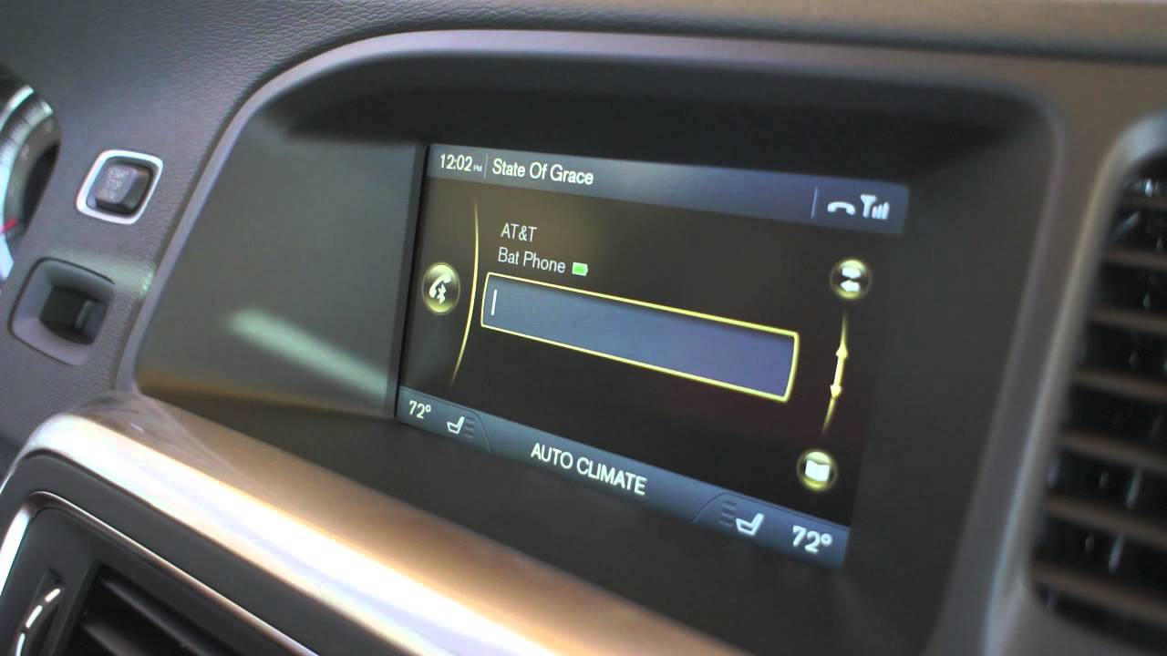 SENSUS Tutorial: How to stream music wirelessly from your iPhone to your Volvo. - YouTube